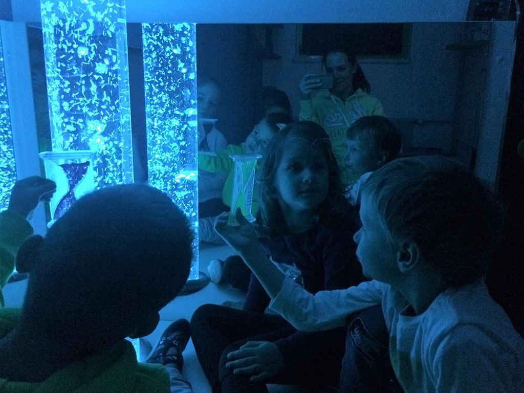 Senzorna soba v enoti Barčica